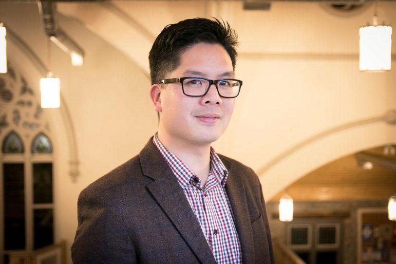 Portrait of musician Ian Wong