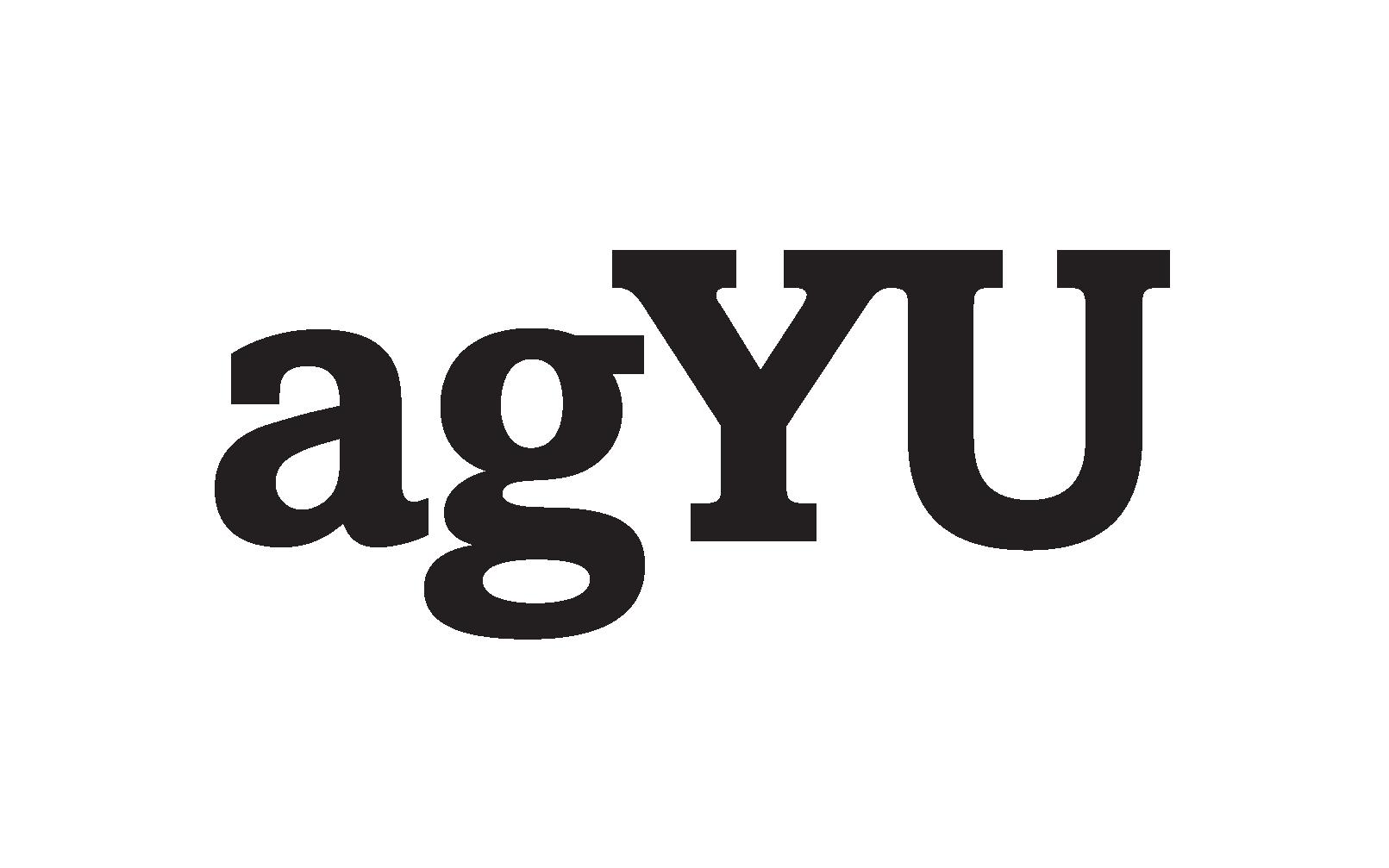 Logo for agYU